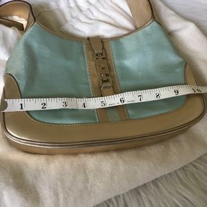 Gucci Bags - Gucci Jackie O Gold & Blue Shimmer Bag